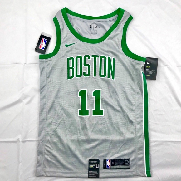 quality design 45b81 d18a9 Nike Boston Celtics Kyrie Irving Swingman Jersey NWT